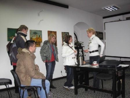 Spotkania z Joanną Dronow metodykiem ODN w Olsztynie